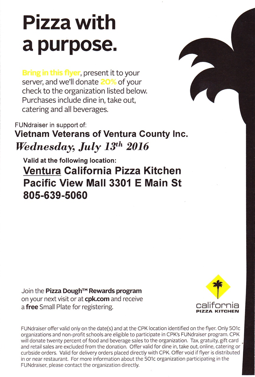 CPK Fund Raiser Flyer